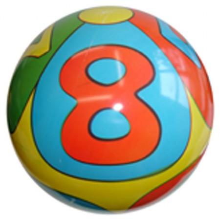 Dětský potištěný míč 230 mm, gumový
