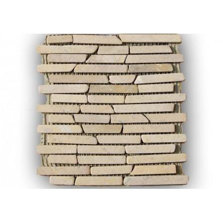 Obklad - mramorová mozaika z pravého kamene, 1 ks