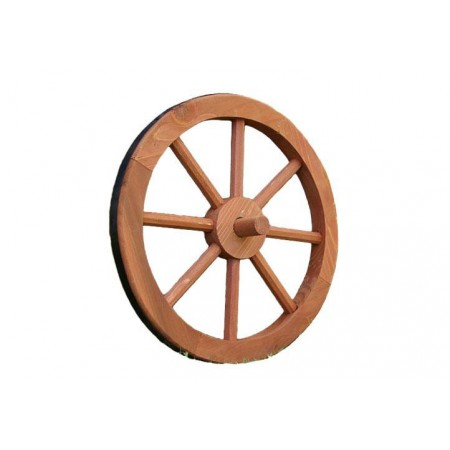 Ozdobné dřevěné kolo do interiéru / exteriéru, průměr 350 mm