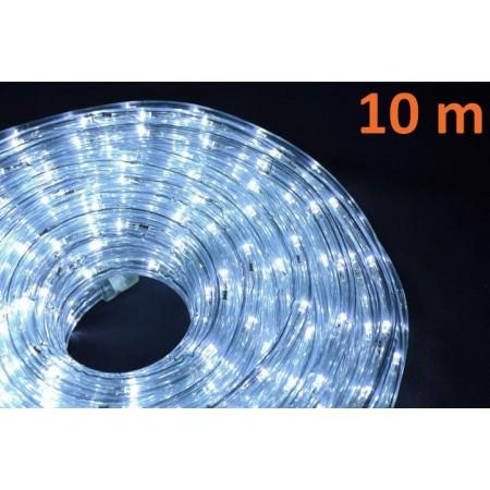 Vodotěsný venkovní světelný kabel, studená bílá, 10 m