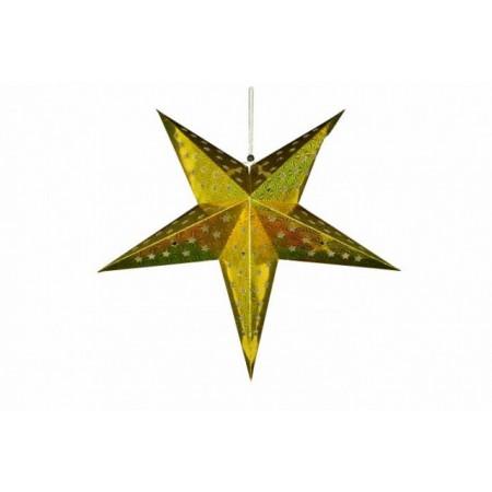 Svítící vánoční hvězda na baterie do bytu, průměr 60 cm