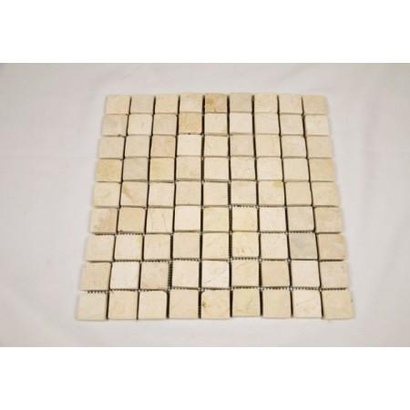 Obklad / dlažba - mozaika z přírodního mramoru, béžová, 1 m2