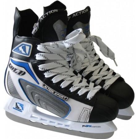 Hokejové brusle ACTION, ergonomický střih, vel. 43
