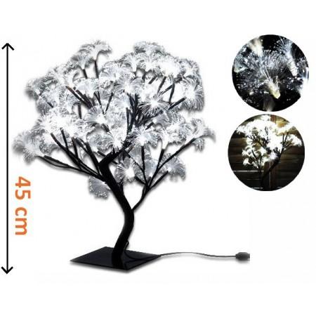 Dekorativní osvětlení do bytu - strom s květy, 45 cm