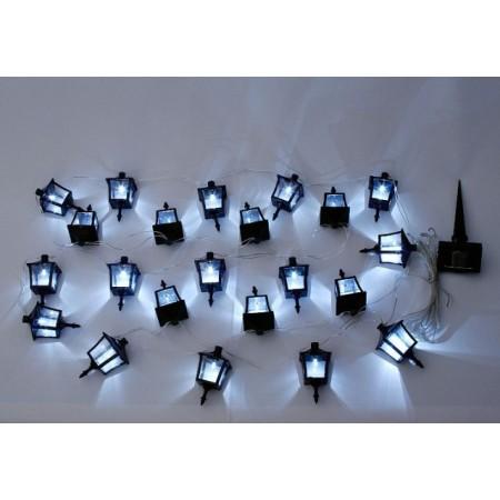 Solární zapichovací lucerny s LED diodami 24 ks
