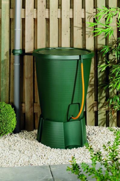 Plastový sud na dešťovou vodu 200 l s filtrem